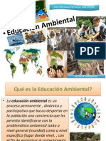 Educación Ambiental Clase