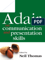 The Concise Adair on Communication and Presentation Skills