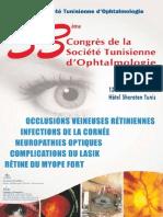33ème Congrès de La Société Tunisienne d'Ophtalmologie