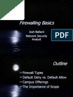 Fire Walling Basics