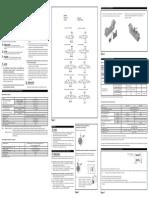 Electrovalvulas 5-2 DataSheet