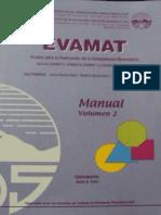 Manual Evamat Vol.2