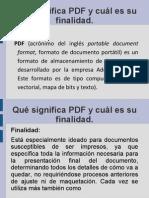 Documentacion de PDF