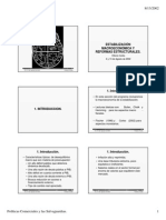 Estabilización Económica - Vittorio Corbo