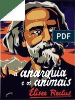 1897 - Élyssé Reclus Anarquia e Os Animais