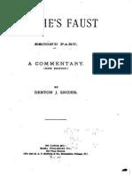 Denton Jacques Snider - Gothe's Faust (Part.2 1886)