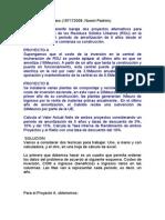 Ejemplo ACB Paso a Paso   El Cabildo de Tenerife baraja dos proyectos alternativos para mejorar la gestión de los Residuos Sólidos