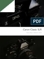 Calendar 2015-Canon SLR Collection (Canada)