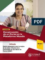 Artículo - Diseño Pedagógico Aulas Virtuales