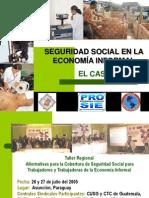 Seguridad Social  en la economia informal.El caso Perú