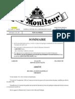 Le Président Martelly accorde grace pleine et entiere en faveur de plusieurs condamnés de droit commun
