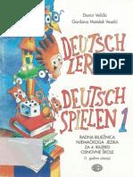 Deutsch Lernen Deutsch Spielen 1 Arbeitsbuch