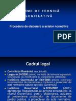 Prezentare Elaborare Acte Normative - Adriana Nedu