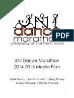 UNI Dance Marathon Media Plan