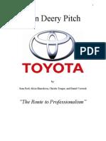 Dan Deery Pitch