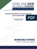 Neoestructuralismo y Macroeconomia Para El Desarrollo