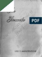 Iso Isomoto Uso e Manutenzione 1951