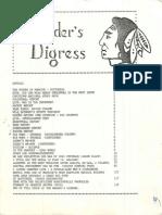 "Charlottetown Rural High School CRHS ""Reader's Digress"" October 1983"