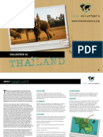 Thailand Brochure