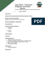 2013 07 05 Agenda Package
