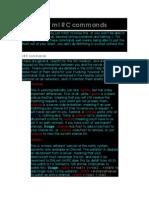 eBook Irc & MIRC Commands