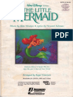 158803608 the Little Mermaid Medley SATB