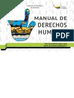 Manual Derechos Humanos Ministerio del Interior