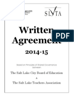 slta written agreement