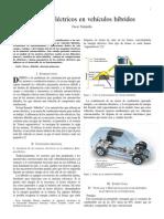 Motores eléctricos en Autos hibridos