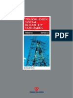 Malaysia Transmission System Reliability Standards