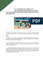 El Voleibol en El Peru