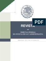 REVISTA DEL TRIBUNAL DE JUSTICIA FISCAL Y ADMINISTRATIVA NO. 40