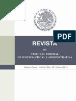 REVISTA DEL TRIBUNAL DE JUSTICIA FISCAL Y ADMINISTRATIVA NO.39