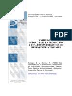 Modelo Para La Producción y Evaluación Formativa de Medios Instruccionales (1)
