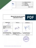 APL 1.2 Manual de Toma de Muestra Lab Clinico