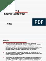 4.Citas Th. Adorno