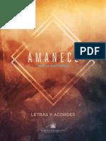 Letra & Acordes_AmaneceMB