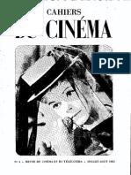 Cahiers du Cinéma - IV