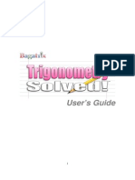 Manual Trigonometry