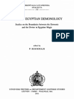 Ancient Egyptian Demonology by P. Kousoulis