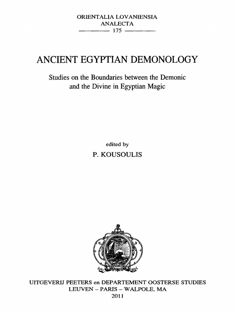 Ancient egyptian demonology by p kousoulis magic paranormal ancient egyptian demonology by p kousoulis magic paranormal mask biocorpaavc