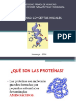 Clase Proteínas 1