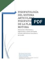 Fisiopatología Del Sistema Articular COMPLETO TODO