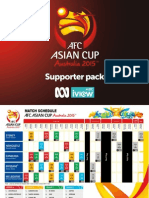 ABC Asian Cup Supporter Pack