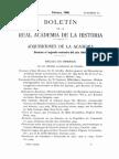 Adquisiciones de La Academia Durante El Segundo Semestre Del Ao 1905 0