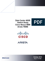 Cisco Arista Comparison