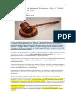 Resumen Ley 1739 14 Ref Tributaria 2015