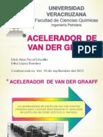 Acelerador de Van Der Graaff