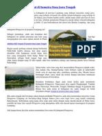 Tempat Di Sumatra Rasa Jawa Tengah