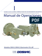 Manual Bombas Dosivac Dens 10